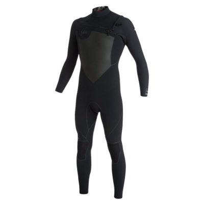 QUIKSILVER MENS AG47 PERFORMANCE 2.2MM LONG SLEEVE CHEST ZIP FULL WETSUIT